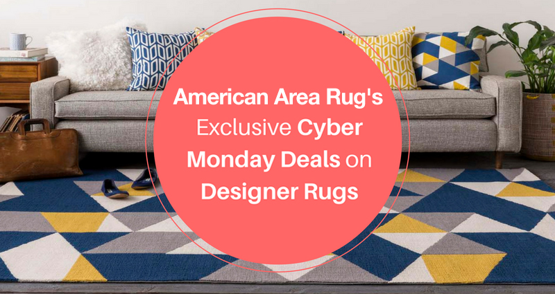 americanarearugs's Exclusive Cyber Monday Deals on Designer Rugs!